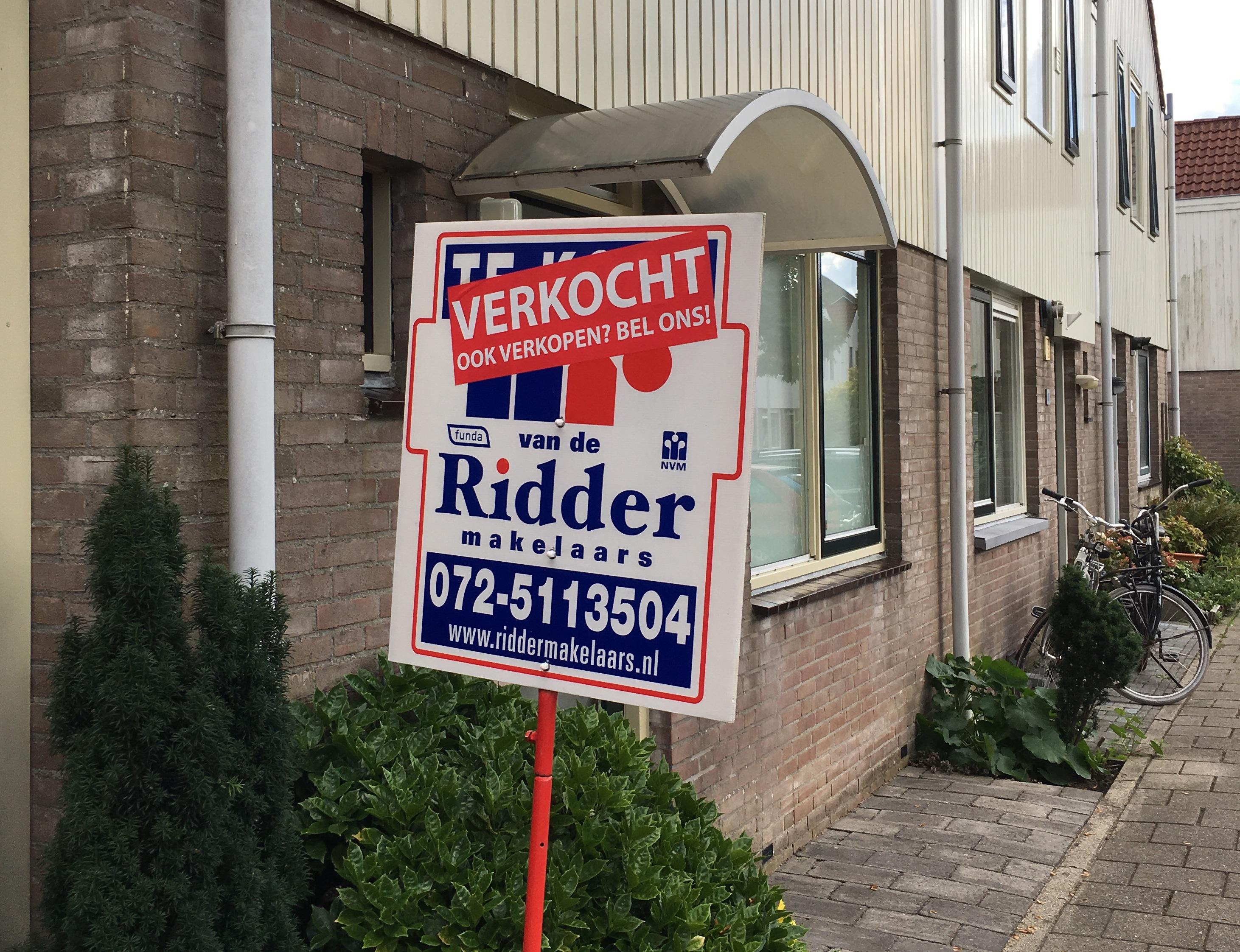 Huizenprijzen stijgen door.